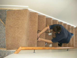 MSP Stairs Carpet Installing