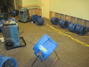 Master Service Pro wet Basement Drying